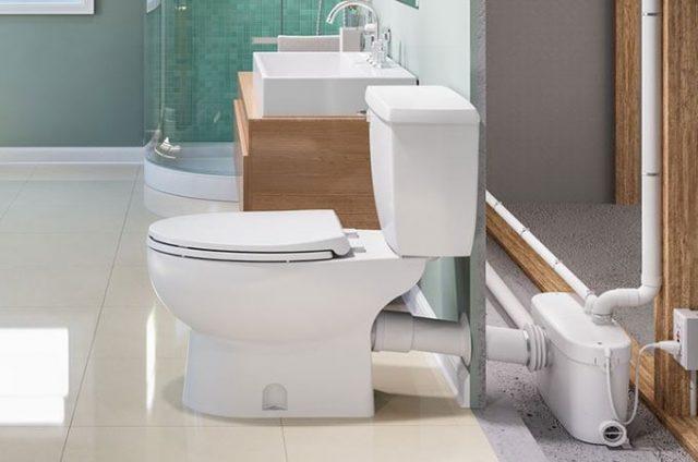 Réparation du système de toilettes à Sanibroyeur